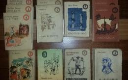 OLCSÓ KÖNYVTÁR sorozat az 1950-es évekből