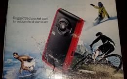 Samsung HMX200 2m-ig vízálló kamera, fényképező