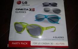 4db új LG AG-F315 3D szemüveg eladó